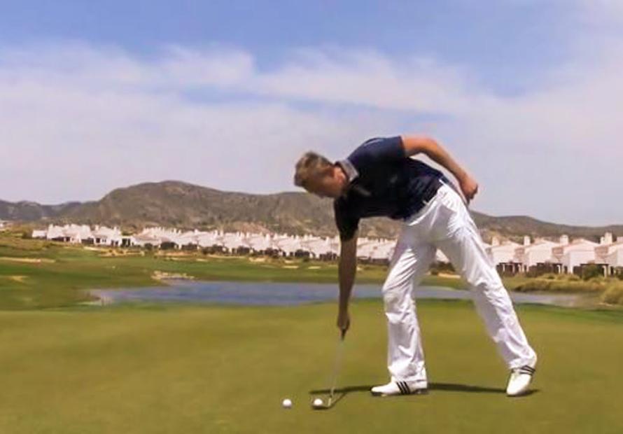 Golf-Trick